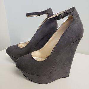 JustFab Sarada Wedge Heels
